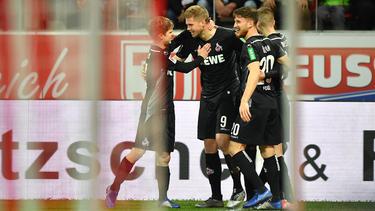 Der 1. FC Köln ließ auch in Regensburg nichts anbrennen