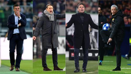 Voting: Wähle den besten Trainer der Bundesliga!