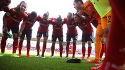 Die Frauen des FC Bayern hoffen auf das CL-Finale