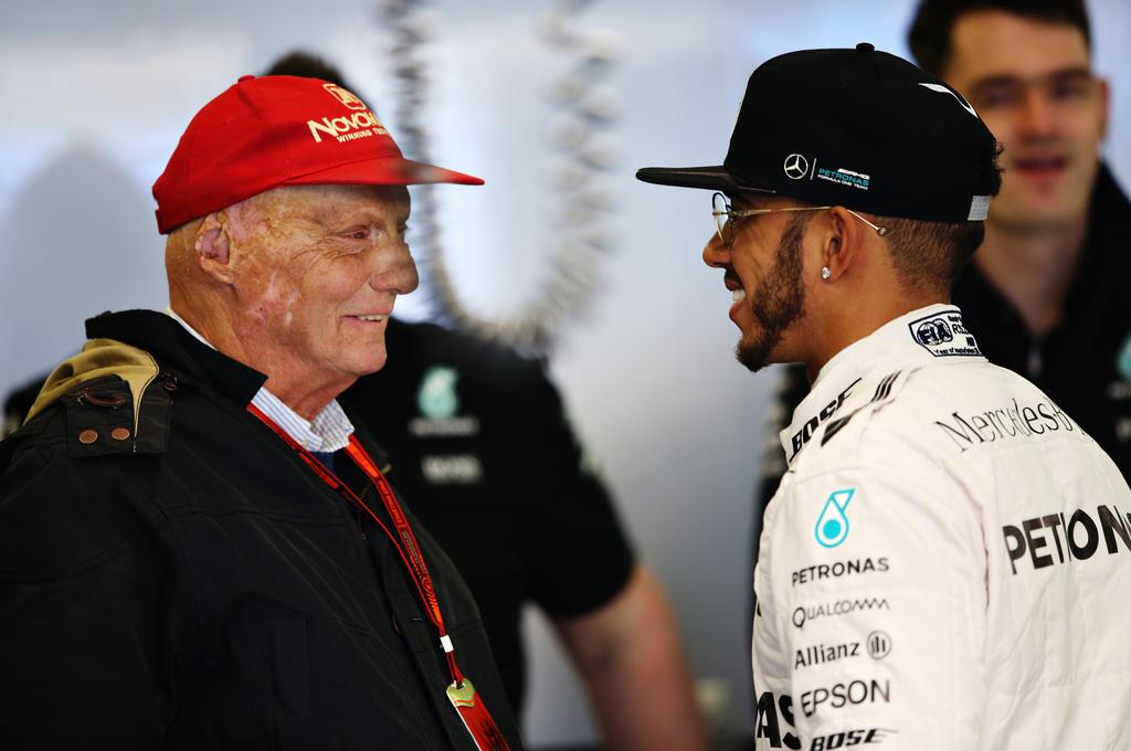 Niki Lauda und Lewis Hamilton pflegten eine gute Beziehung