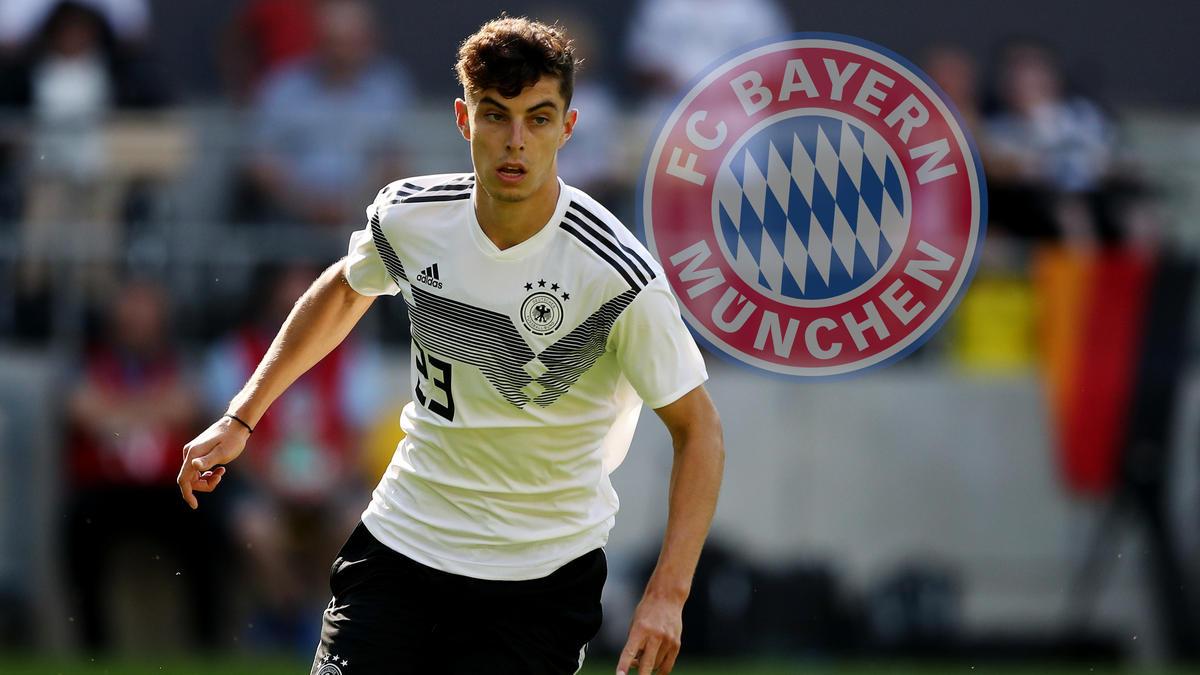 Kai Havertz steht weit oben auf der Wunschliste des FC Bayern