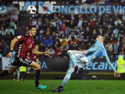 Espectacular acción de Aspas en Copa del Rey. (Foto: Getty)