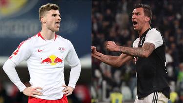 Während Timo Werner dem BVB abgesagt hat, denkt Mario Mandzukic über einen Wechsel nach