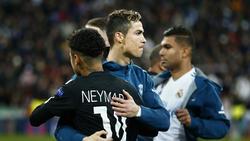 Cristiano Ronaldo und Neymar verstehen sich gut