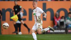 Augsburgs Philipp Max könnte in Zukunft bei Atalanta Bergamo spielen