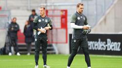 Manuel Neuer hat im DFB-Team die Nase vor Marc-André ter Stegen