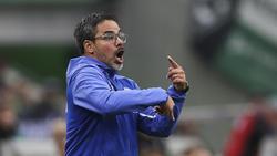 David Wagner haderte bei der Partie seines FC Schalke 04 gegen den FC Bayern mit einigen Entscheidungen