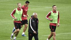 Statt der albanischen Hymne erklang im Stade de France die Hymne von Andorra