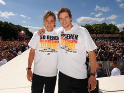 Fritz und Friedrich lassen sich feiern