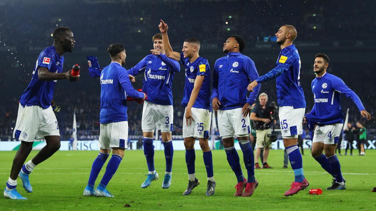 Der FC Schalke 04 gewann drei Spiele in Folge
