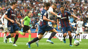 Benzema ha cuajado un partido espectacular.
