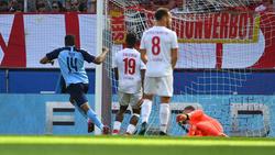 Alassane Pléa erzielte den Treffer zum Derby-Sieg