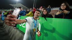 Nicolás González vom VfB Stuttgart zählt zum argentinischen Aufgebot