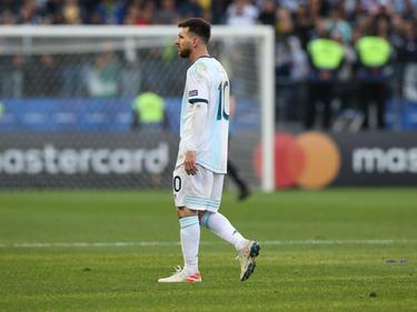 Messi regresa tras la sanción de Conmebol.