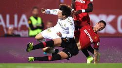 Real Madrid stolperte zuletzt schon wieder in der Liga