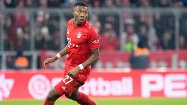 David Alaba hofft auf ein längeres Engagement von Hansi Flick beim FC Bayern