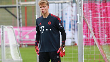 Johannes Schenk fällt beim FC Bayern vorerst aus