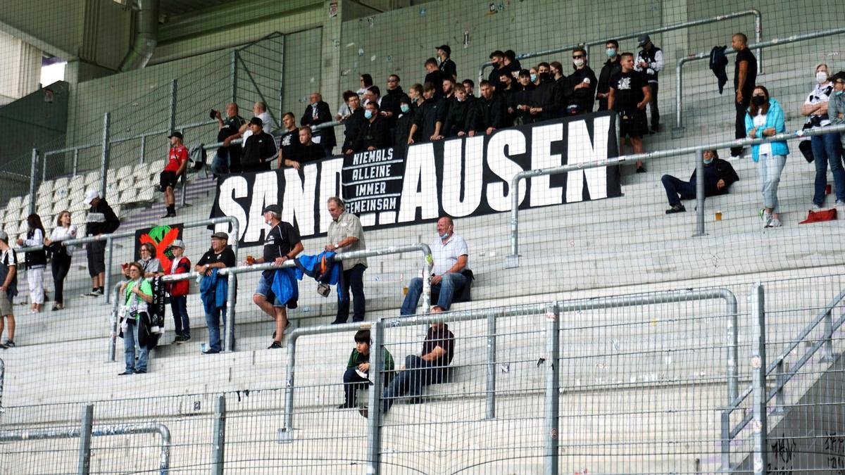 Die Fans des SVS haben sich mit der Klubspitze ausgesprochen