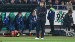 Dimitrios Grammozis rangiert mit dem FC Schalke 04 auf dem dritten Platz