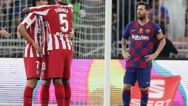 Messi war mit dem Spiel des FC Barcelona nicht zufrieden
