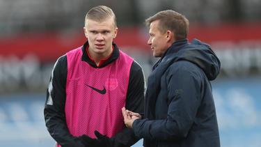 Jesse Marsch sprach über den Wechsel von Erling Haaland zum BVB