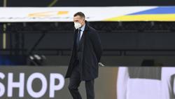 Durchlebt mit seinem Team schwierige Tage: Ukraine-Coach Andriy Shevchenko