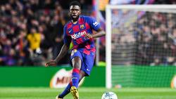 Samuel Umtiti soll den FC Barcelona im Sommer verlassen