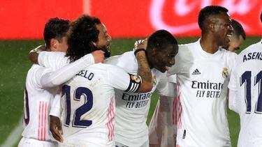 Real Madrid gewann gegen Getafe