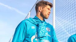 Der Einsatz von Schalke-Stürmer Klaas-Jan Huntelaar bleibt unsicher