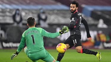 Salah traf doppelt für die Reds