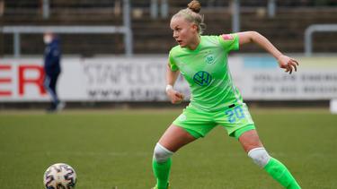 Brachte Wolfsburgs Fußballerinnen gegen Kvinner auf die Siegerstraße: Pia-Sophie Wolter