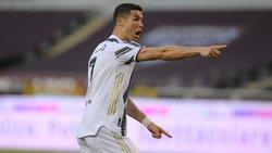 Ronaldo brachte die Alte Dame aus Turin auf Kurs
