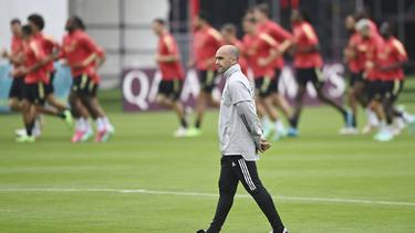 Roberto Martinez steht mit Belgien im EM-Achtelfinale