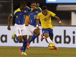 Neymar im Dribbling