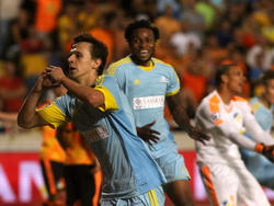 Der FK Astana darf sich in Kasachstan erneut als Meister feiern lassen