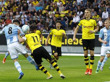 Der 1860-Nachwuchs gewinnt vor einer Rekordkulisse in Dortmund