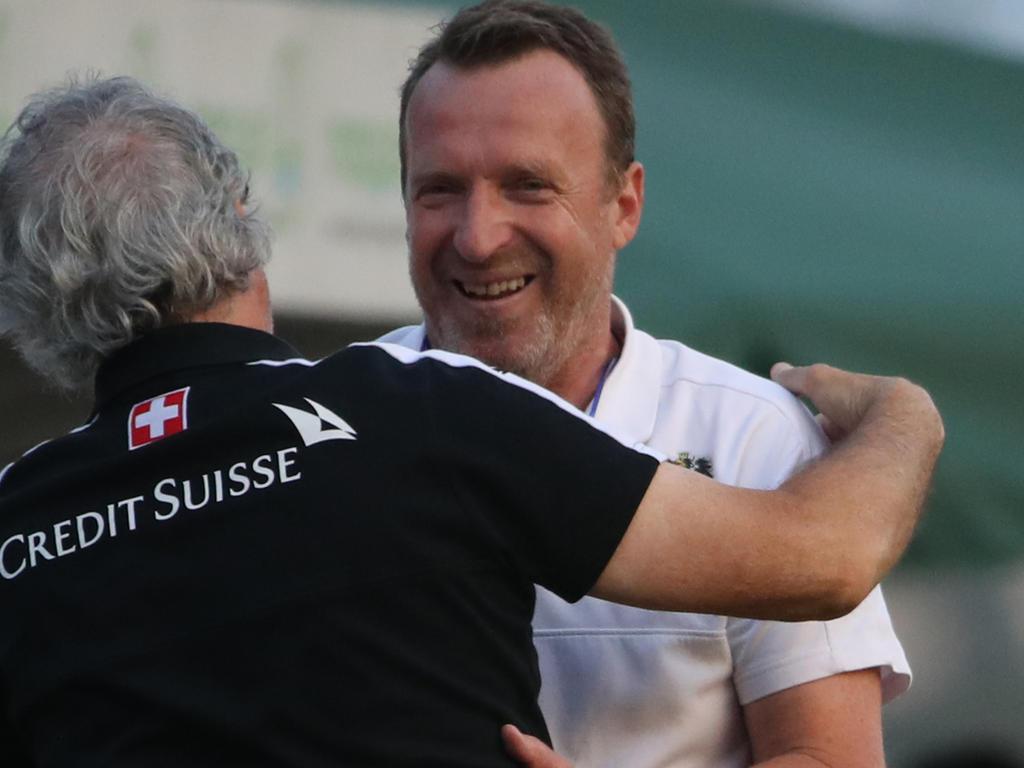 Rupert Marko mit seinem Schweizer Pendant Yves Débonnaire