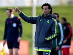 Santiago Solari soll Real Madrids Negativserie beenden. © Getty Images/Gonzalo Arroyo Moreno