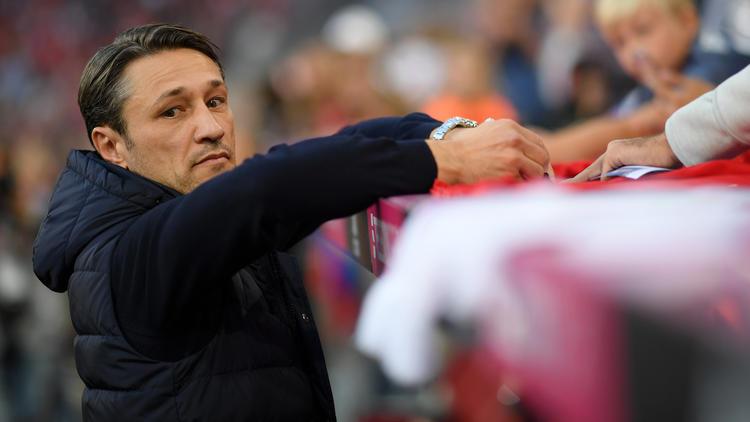 Niko Kovac spürt beim FC Bayern Druck
