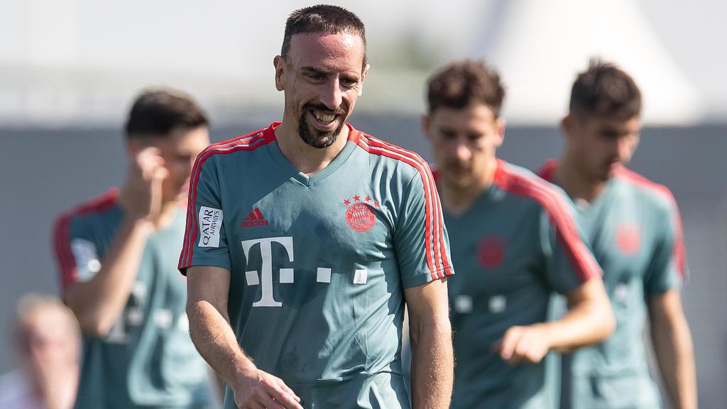 Franck Ribéry vom FC Bayern meldet sich nach Ausraster zu Wort