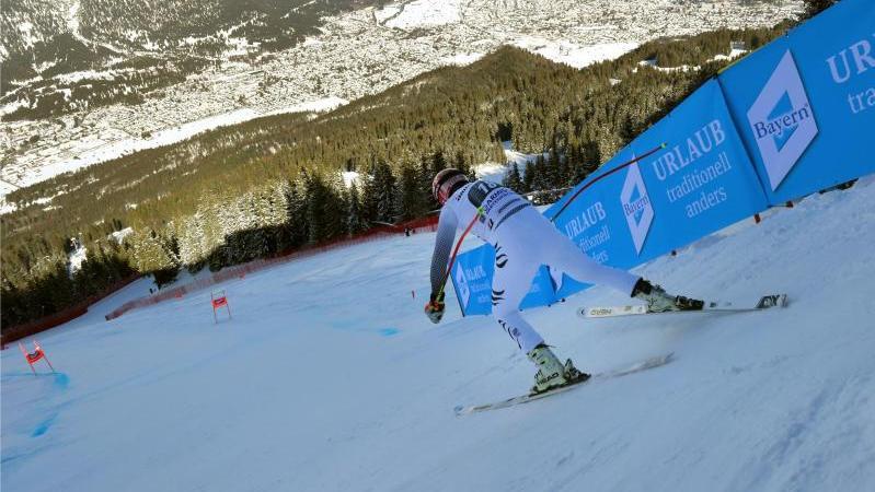 Ski alpin: Herren-Abfahrt in Garmisch-Partenkirchen abgesagt