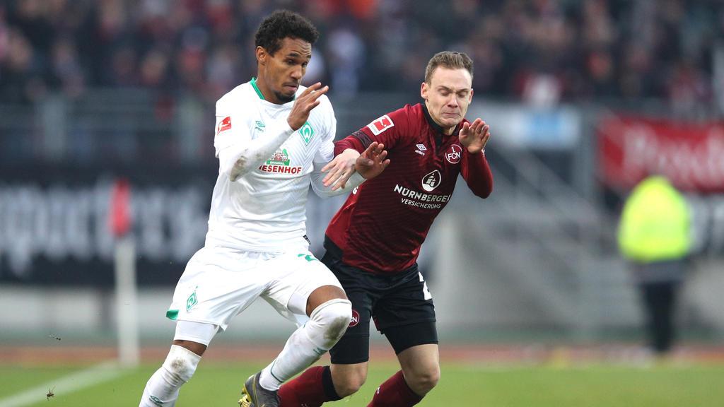Werder und der 1. FC Nürnberg trennen sich unentschieden