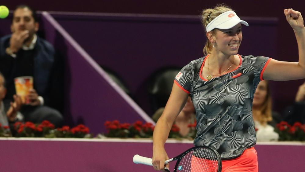 Elise Mertens gewinnt in Doha