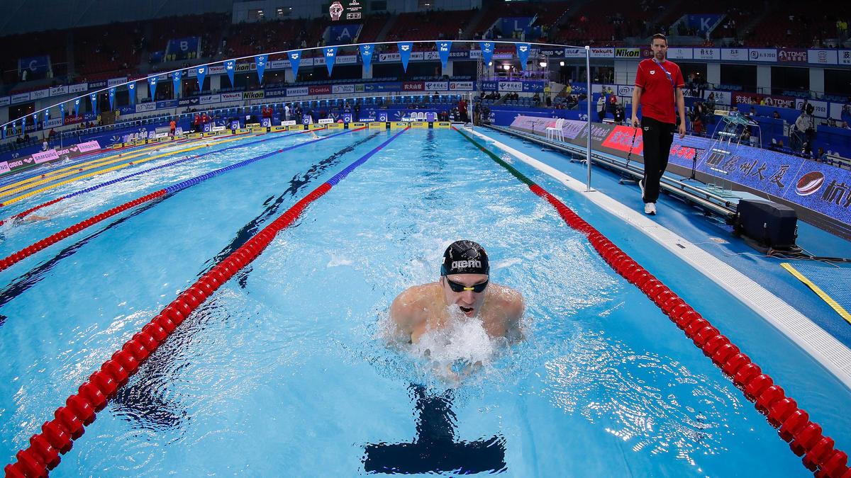 Marco Koch siegte über 200 m Brust in Bergen