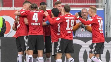 Der FC Ingolstadt darf weiter auf den Klassenerhalt in der 2. Bundesliga hoffen