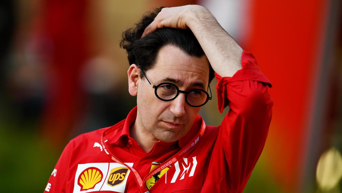 Mattia Binotto analysiert, was im Monaco-Qualifying schiefgelaufen ist