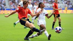 España tuvo las mejores ocasiones en el segundo acto.