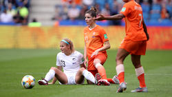 Die Niederlande mühte sich zu einem Sieg gegen Neuseeland
