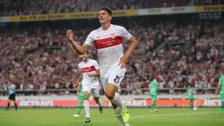 Mario Gomez traf für den VfB Stuttgart