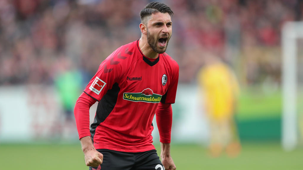Vincenzo Grifo wechselte von der TSG 1899 Hoffenheim zum SC Freiburg